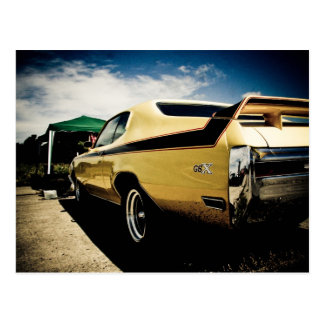 Awesome Buick GSX Muscle Car Postcard