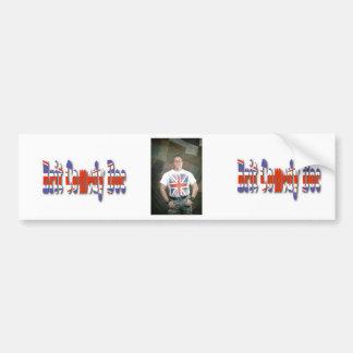 Awesome bumper Brit Comedy Doc sticker! Bumper Sticker