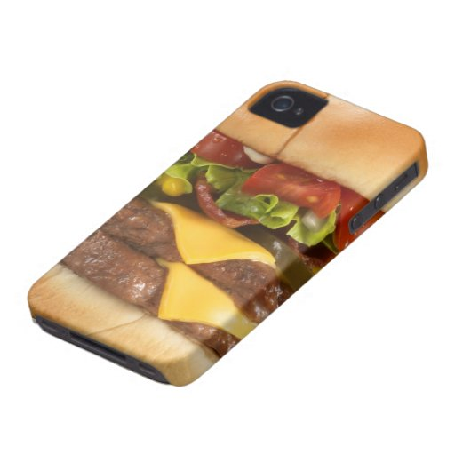 Awesome Burger iPhone Case iPhone 4 Covers