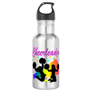 AWESOME CHEERLEADER MEGAPHONE DESIGN 532 ML WATER BOTTLE
