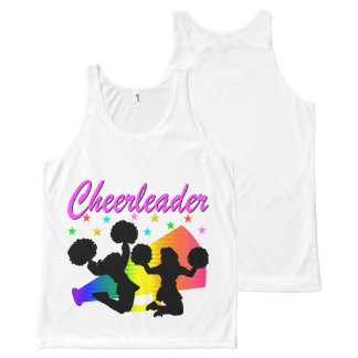 AWESOME CHEERLEADER MEGAPHONE DESIGN All-Over PRINT TANK TOP