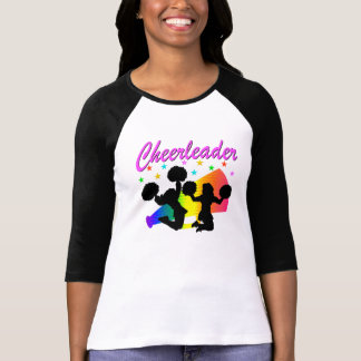 AWESOME CHEERLEADER MEGAPHONE DESIGN T SHIRT