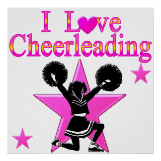 AWESOME CHEERLEADER POSTER