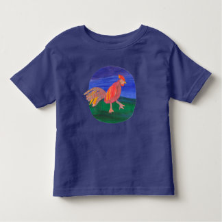 Awesome chicken or Rooster Toddler T-Shirt