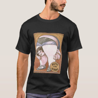 Awesome Circus Poster Ruth the Acrobat T-Shirt