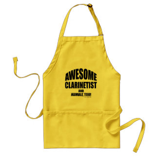 Awesome Clarinetist Standard Apron