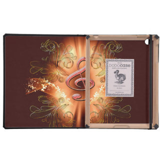 Awesome clef with light effects 10 iPad case