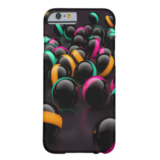 Awesome Colorful 3D Marbles Barely There iPhone 6 Case
