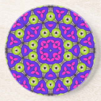 Awesome colorful pattern coaster