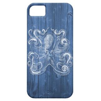 awesome cool Antique effect white octopus iPhone 5 Cover
