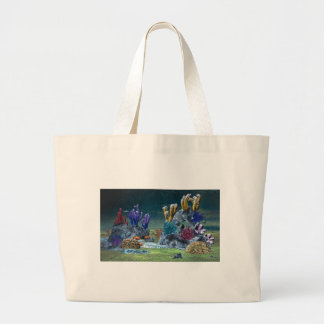 Awesome Coral Reef Large Tote Bag