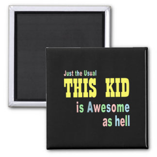 Awesome cute square magnet
