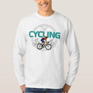 Awesome Cycling Design - Long Sleeve Tee Shirts
