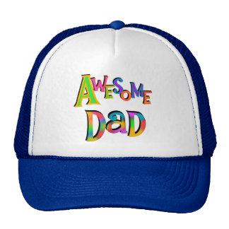 Awesome Dad T-shirts and Gifts Mesh Hat
