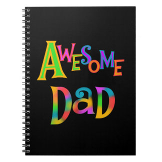 Awesome Dad T-shirts and Gifts Note Books