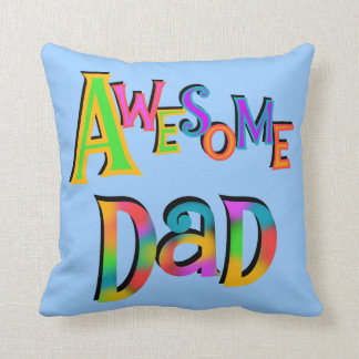 Awesome Dad T-shirts and Gifts Throw Pillow