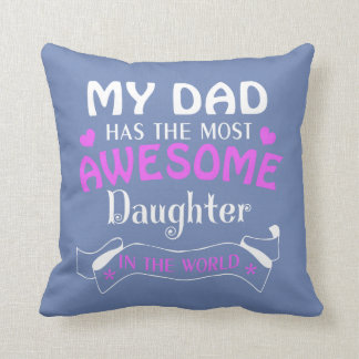AWESOME DAUGHTER CUSHION