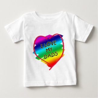 Awesome Design for Gay Dads Baby T-Shirt