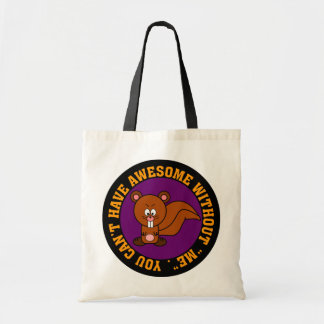 Awesome doesn't happen without me budget tote bag
