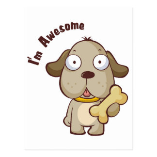 Awesome Dog Post Cards
