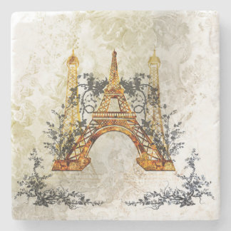 Awesome eiffeltower stone coaster