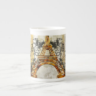 Awesome eiffeltower tea cup