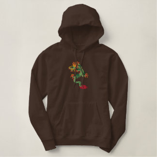 Awesome Embroidered Dragon Art Hoodies