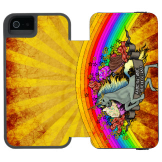 """""""Awesome Explosion"""" Incipio Watson™ iPhone 5 Wallet Case"""