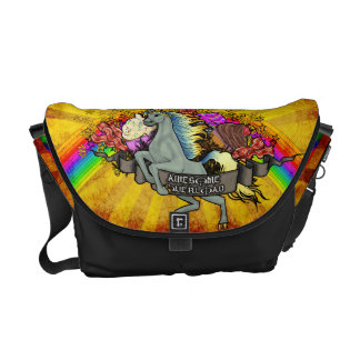 """Awesome Explosion"" Messenger Bags"