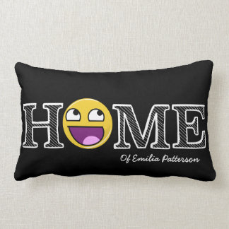 Awesome Face Awesome Housewarming Lumbar Cushion