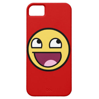 Awesome Face Case-Mate Barely There™ iPhone 5 Cas