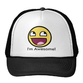 Awesome Face - Im Awesome Cap
