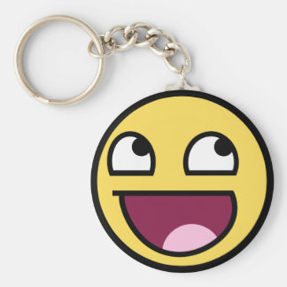 Awesome Face Keychain
