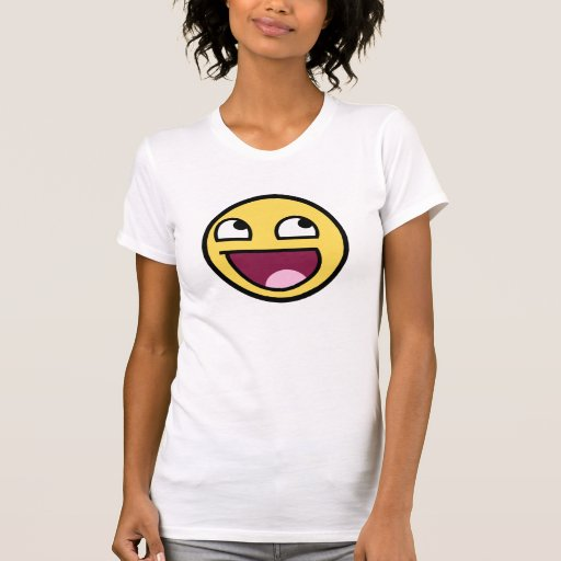 Awesome Face Ladies Petite T-Shirt