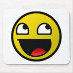 Awesome Face! Mouse Pad