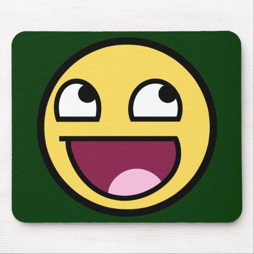 Awesome Face Mousepad