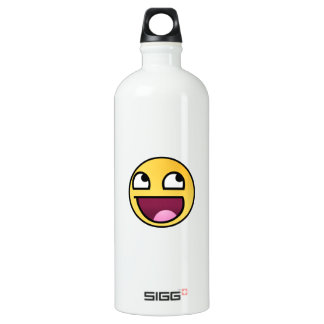 Awesome Face SIGG Traveller 1.0L Water Bottle