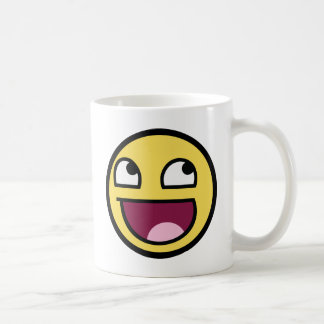Awesome Face Smiley Coffee Mug