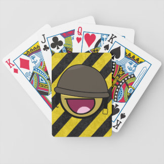 Awesome face smiley hazardous deck of cards !
