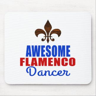 AWESOME FLAMENCO DANCER MOUSE PAD