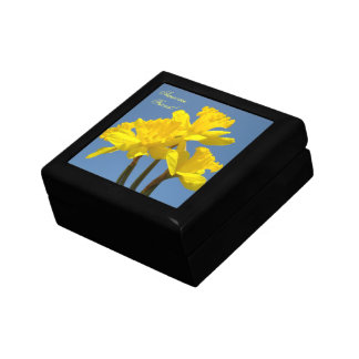 Awesome Friend! Gift Boxes Spring Daffodil Jewelry