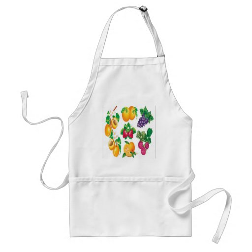 Awesome fruit selection design aprons