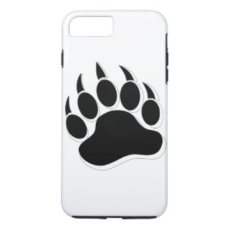 Awesome Gay Bear claw B&W 3D effect iPhone 8 Plus/7 Plus Case