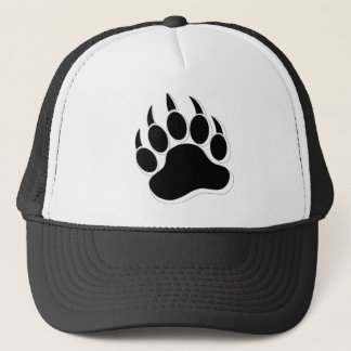 Awesome Gay Bear claw B&W 3D effect Trucker Hat