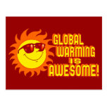 Awesome Global Warming Postcards