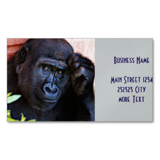 awesome gorilla 1215P Magnetic Business Cards