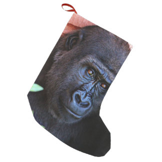 awesome gorilla 1215P Small Christmas Stocking