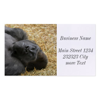 awesome Gorilla Pack Of Standard Business Cards