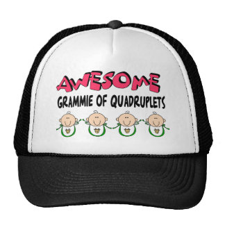 AWESOME GRAMMIE of QUADRUPLETS Cap