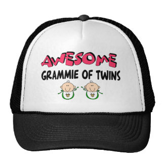 AWESOME GRAMMIE of TWINS Cap